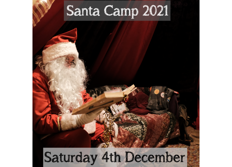 Santa Camp Saturday 4th December