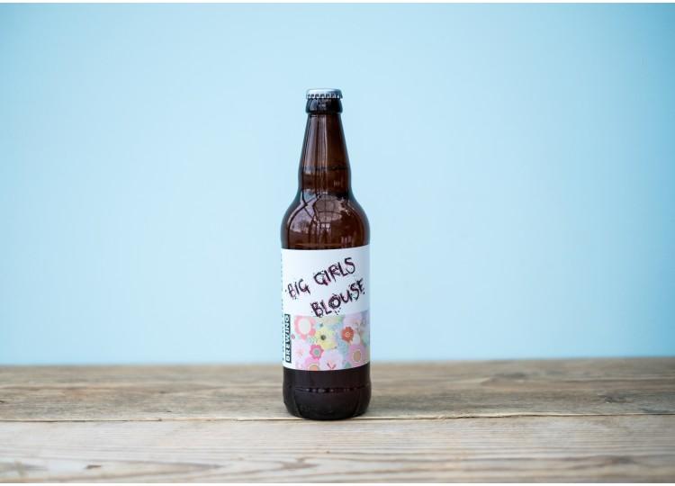 Big Girls Blouse - Session Pale Ale - 3.8% 500ml Bottle
