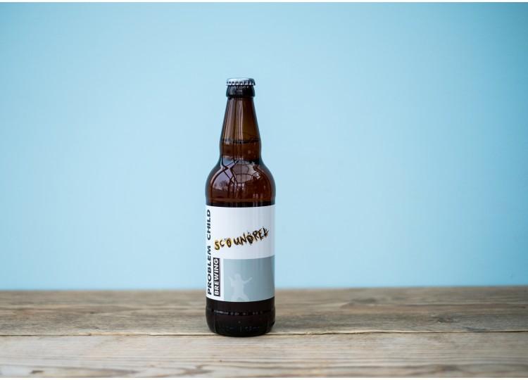 Scoundrel - Easy Drinking Pale Ale - 4.6% 500ml Bottle